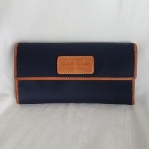 Navy Kate Spade Wallet